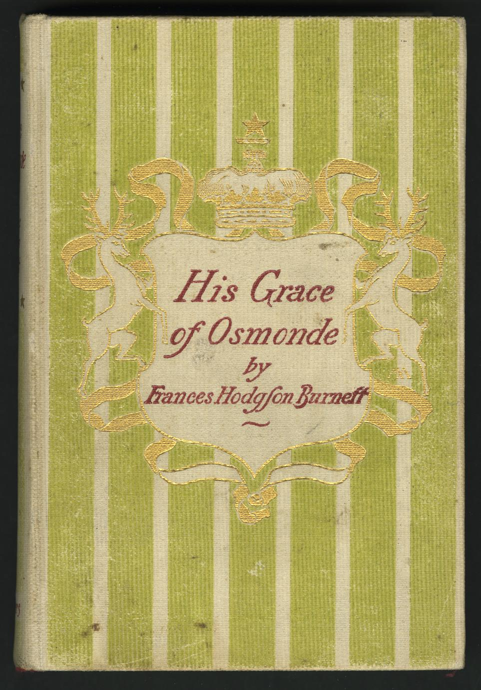 His Grace of Osmonde (1 of 2)