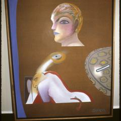 Title Unknown, painting by Siron Franco