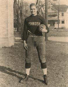 Freshman football captain Frank Schultz