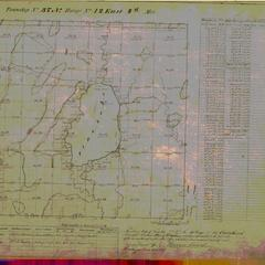 [Public Land Survey System map: Wisconsin Township 37 North, Range 12 East]