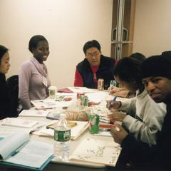 Activity at the 2003 Student of Color Leadership Retreat