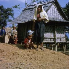 Ethnic Khmu' house