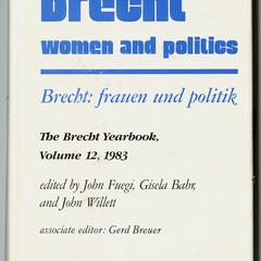 Brecht, women and politics