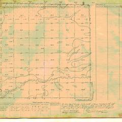 [Public Land Survey System map: Wisconsin Township 20 North, Range 07 East]