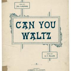 Can you waltz?