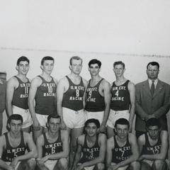 Racine Center basketball players