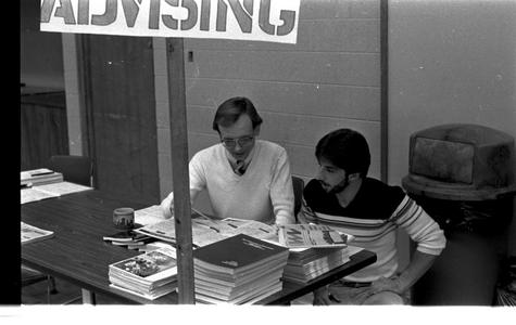 Advising in the early 80s