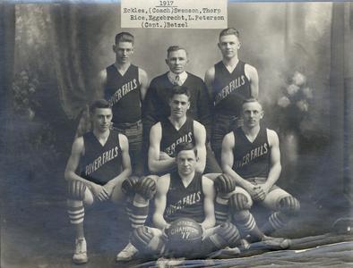 Basketball team, 1917