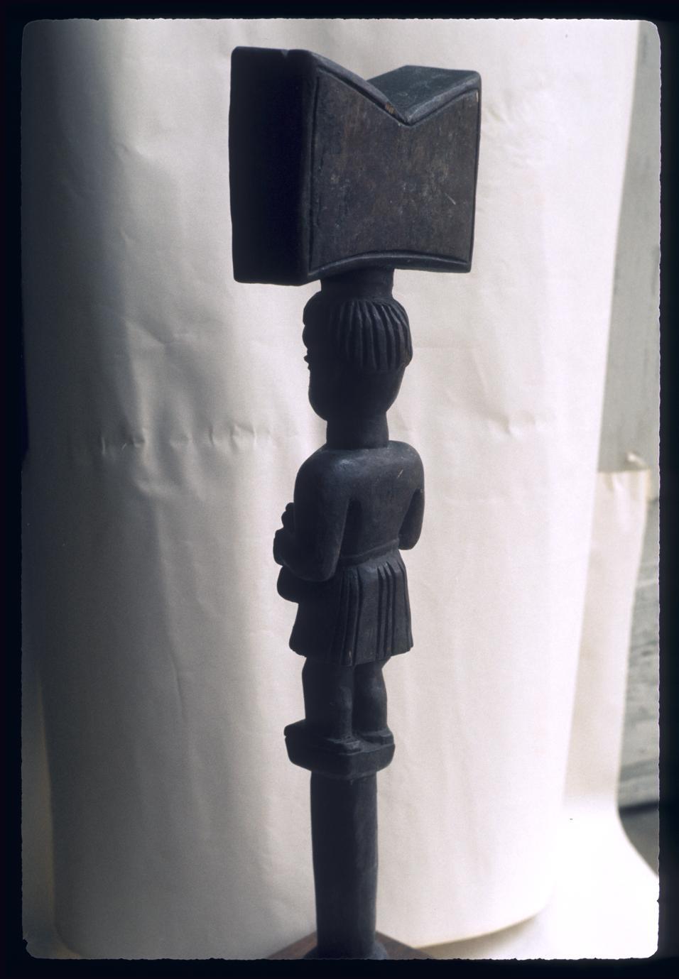 Afro-Brazilian figure for Shango (Xango) of Nago (Yoruba)