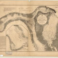 Chart no. 1 of River Ste. Marie from Point Iroquois to East Neebish