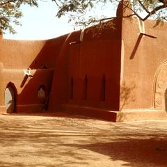 Exterior of Oldest Christian Church in Northern Nigeria, St. Bartholomew's Church in Wusasa