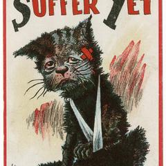 I'm a suffer yet cat, suffrage postcard