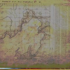 [Public Land Survey System map: Wisconsin Township 05 North, Range 13 East]