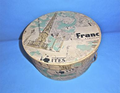 French newspaper hatbox