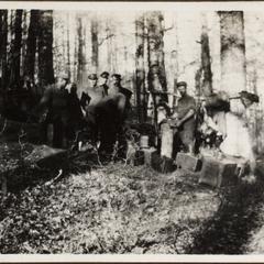 Am Roten-Turmpass. Riui Vadalui. 1916