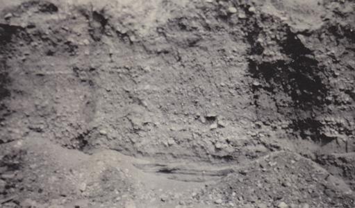 Beach gravel at William Below pit