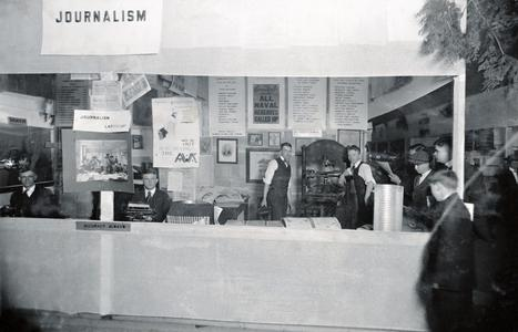 Journalism booth