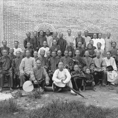 Male members of church at Yeungkong 陽江.