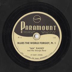 Blues the world forgot, pt. 1