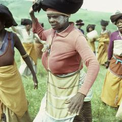 Southern Africa : Domestic Activities : igqira dance