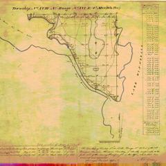 [Public Land Survey System map: Wisconsin Township 18 North, Range 16 East]