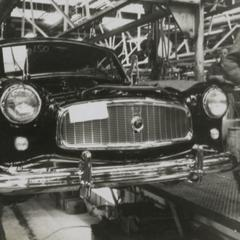 American Motors Corporation Rambler American on the assembly line