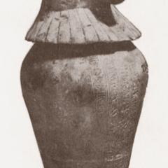 Egyptian Baboon Canopic Jar