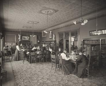 River Falls Normal School library, circa 1903