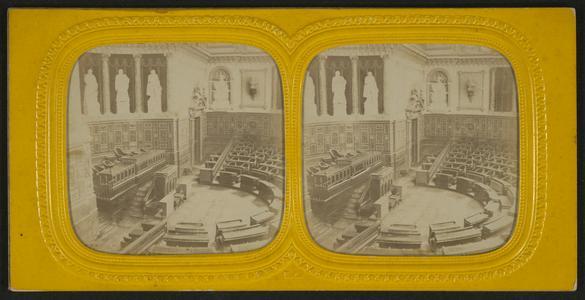 Salle de seances, Sénat