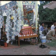 Ban Pha Khao : village boun--monk's bed