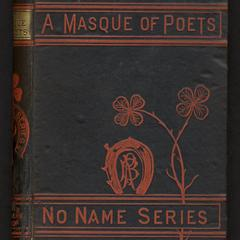 A masque of poets, including Guy Vernon, a novelette in verse