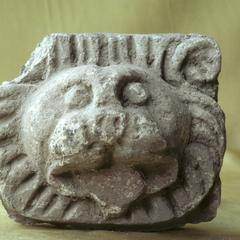 NG355, Stucco Lion Head