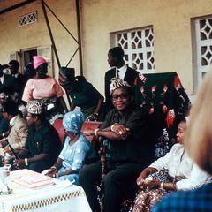 President and Madame Mobutu at Reception