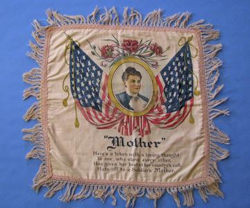 World War I pillow cover
