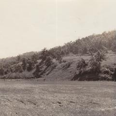 Ironton sandstone terrace at Wolf Valley