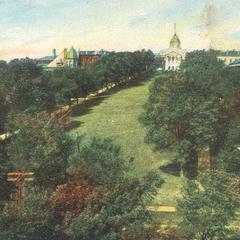 Bascom Hill, ca. 1900-1916