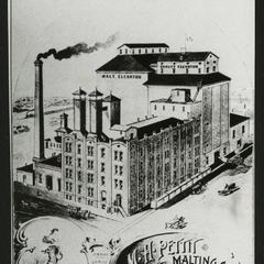 M. H. Pettit Malting Company plant