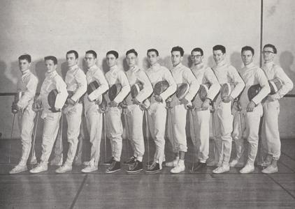 1951 Fencing team