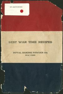 Best war time recipes