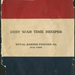 Best war time recipes