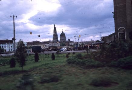 Annunciation Cathedral from a distance