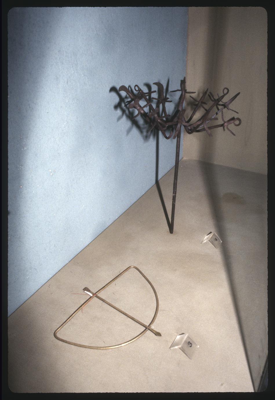 Logun Ede Sculpture and Sword