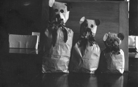 Paper bag bears