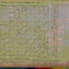 [Public Land Survey System map: Wisconsin Township 37 North, Range 11 East]