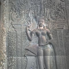Angkor Wat : apsara, outer enclosure