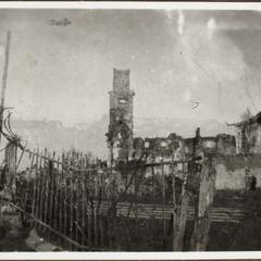 Die Ruinen in St. Peter bei Görtz i. Italien