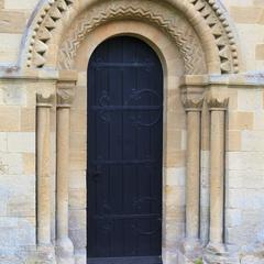 Iffley St Mary Church north door