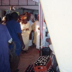 Ifaturoti wedding preparations
