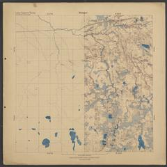 Geological map of Kenton area, Houghton and Iron Counties, Michigan