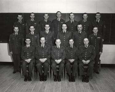 Col. Edwin Archibald group photo